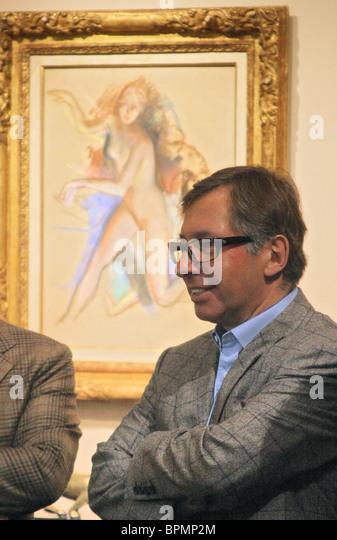 26. russische antiquarische Ausstellung eröffnet in Moskau Stockbild