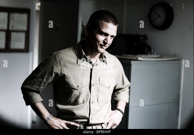 BARRY PEPPER FLAGS OF OUR FATHERS (2006) Stockbild