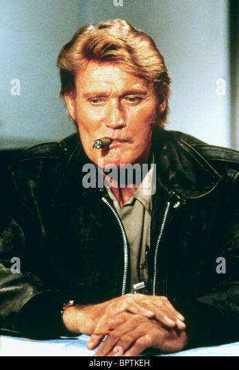 CHUCK CONNORS SCHAUSPIELER (1982) Stockbild