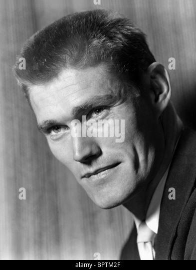 CHUCK CONNORS SCHAUSPIELER (1953) Stockbild