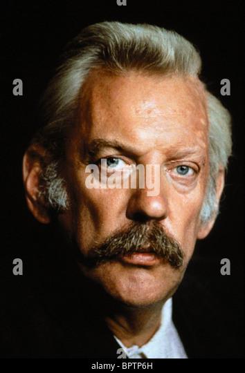 DONALD SUTHERLAND SCHAUSPIELER (1988) Stockbild