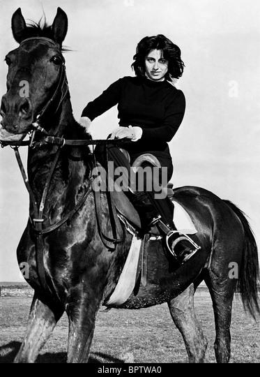 SCHAUSPIELERIN ANNA MAGNANI (1951) Stockbild