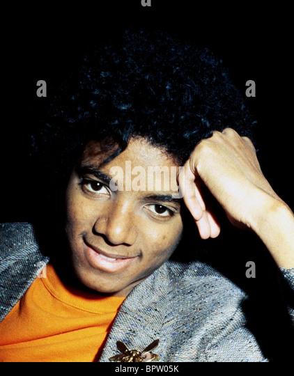 MICHAEL JACKSON POP STAR (1977) Stockbild