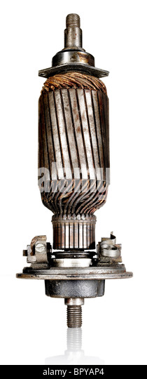 Alter motor Stockbild