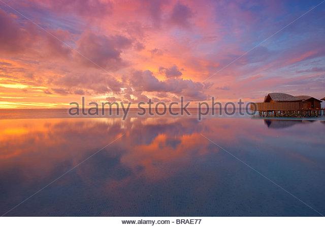 Malediven, Indischer Ozean, Asien Stockbild