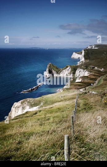Dorset Küste, England, UK Stockbild