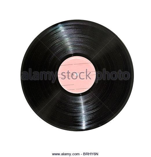 Schallplatte Stockbild