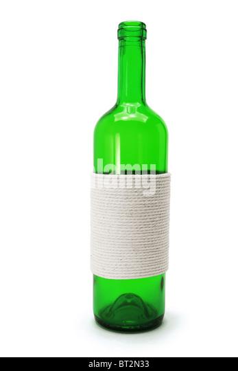 Grüne Flasche Stockbild