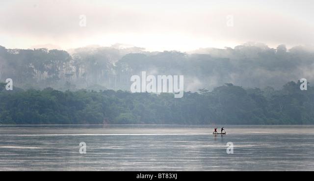Sangha-Fluss Stockbild