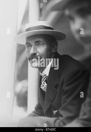 Vintage Foto c1909 Millionär amerikanischen Geschäftsmann + Titanic Opfer John Jacob Astor IV (1864-1912). Stockbild