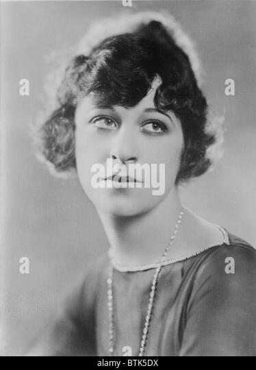 Fanny Brice (1891 ? 1951), US-amerikanische Komikerin und erfahrener Sänger in frühen Porträt. Brice Stockbild