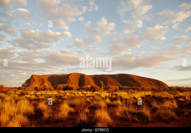 Australien, Northern Territory, Ayers Rock, Uluru-Kata Tjuta National park Stockbild