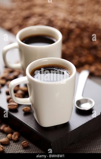 stilvoll Kaffee setup Stockbild