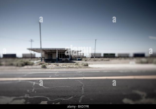 Backroads in Südkalifornien Stockbild