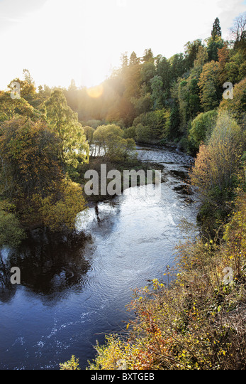 Malerischen schottischen Landschaft. Stockbild