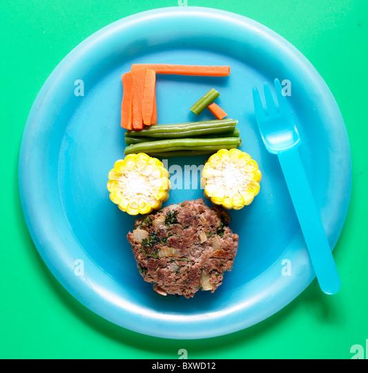 Gemüse - mit Rezept Stockbild