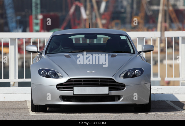Super Sportwagen Aston Martin Vantage. Stockbild