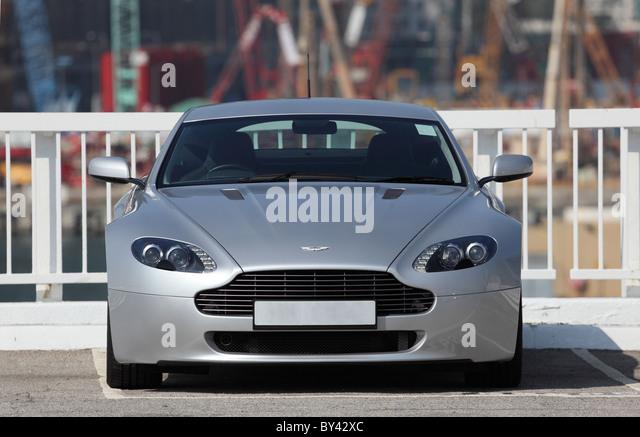 Super Sportwagen Aston Martin Vantage Stockbild