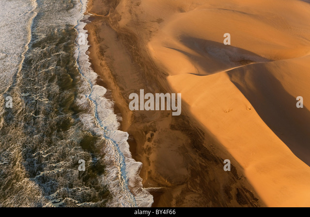 n-Küste, Namib-Naukluft-Nat-Park, Namib-Wüste, Namibia Stockbild