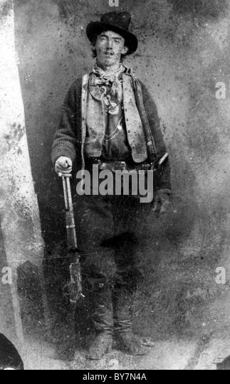 Billy the Kid Stockbild