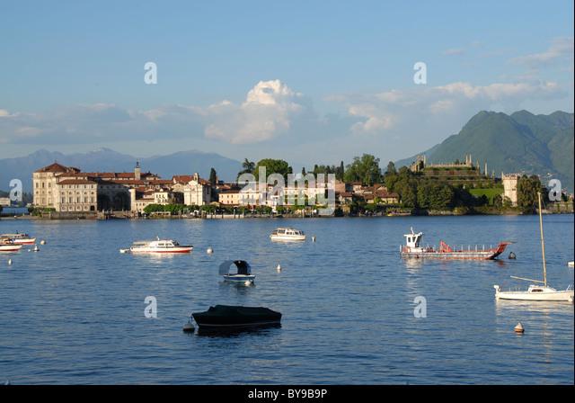 Isola Madre, Borromaeische Inseln, Lago Maggiore, Piemont, Italien Stockbild