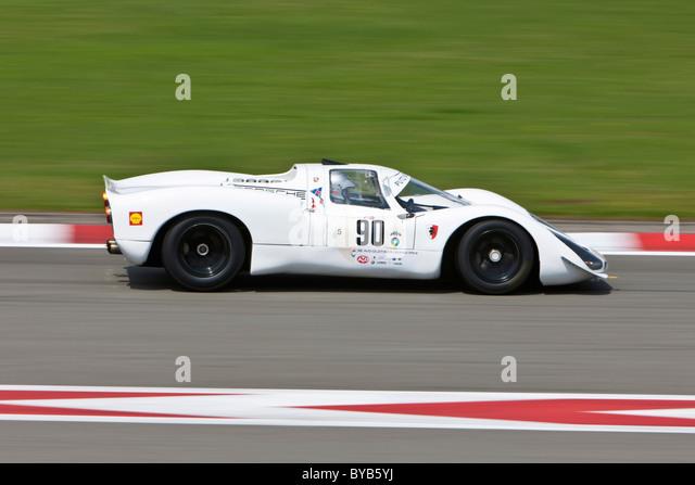 World Sportscar Masters, Oldtimer Grand Prix 2010, Nürburgring Race Track, Rheinland-Pfalz, Deutschland, Europa Stockbild