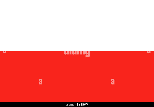 Polen-Flagge-Abbildung Stockbild
