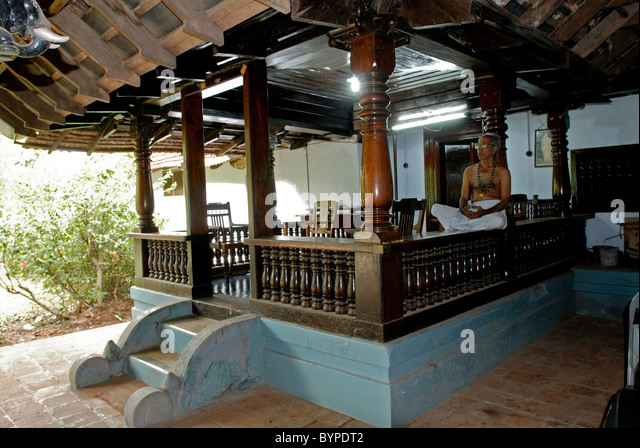CHITTOOR MANA IN KERALA Stockbild