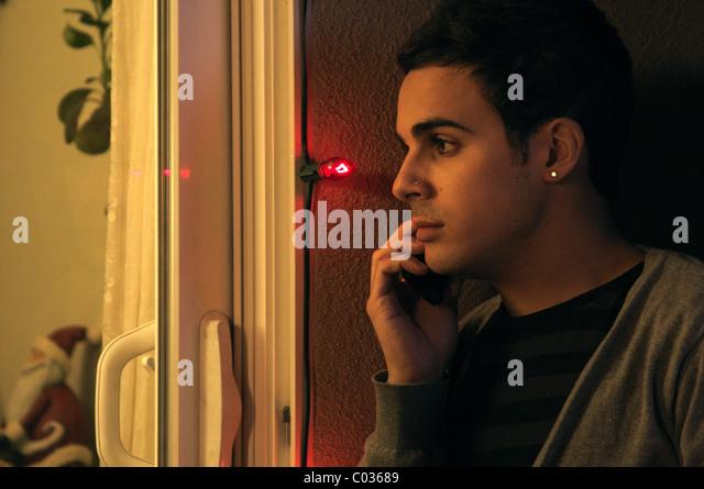 ADAMO RUGGIERO MACHEN DIE WEIHNACHTSZEIT HOMOSEXUELL (2009) Stockbild