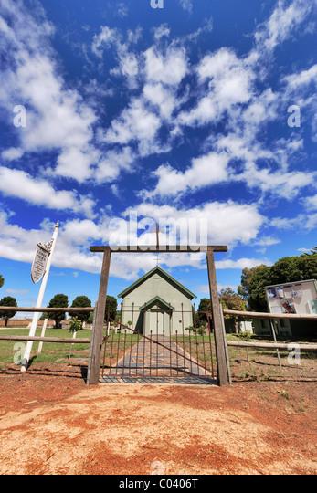 Katholische Kirche Lady Bay Fleurieu Peninsula Südaustralien Stockbild