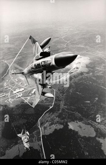 RAF Phantome im Flug Stockbild