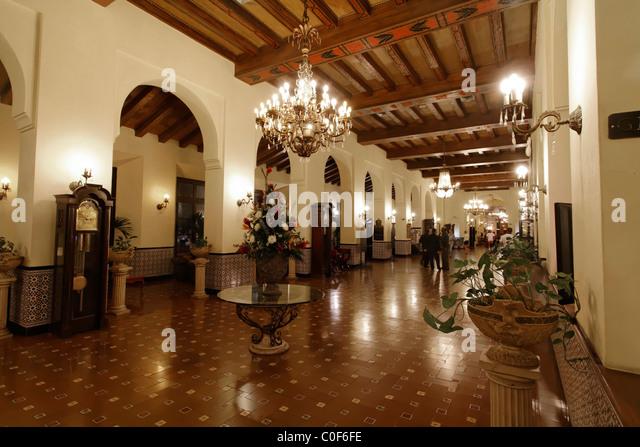 Hotel National Vedado, Lobby, Kuba Stockbild