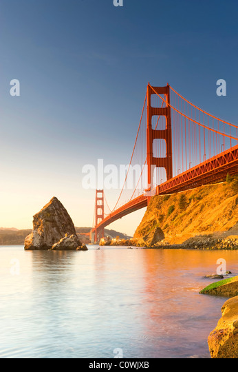 USA, Kalifornien, San Francisco, Golden Gate Bridge Stockbild