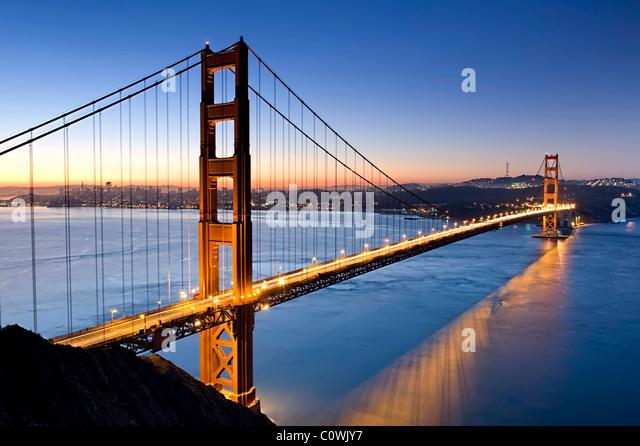 USA, Kalifornien, San Francisco, Golden Gate Bridge Stockbild