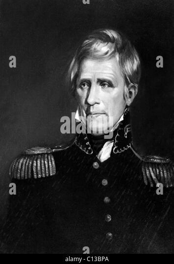 Andrew Jackson (1767-1845), US-Präsident 1829-1837, ca. frühen 1800er Jahren. Stockbild