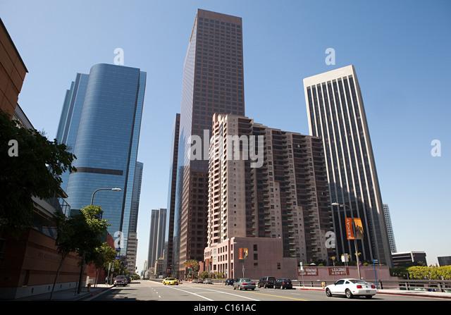 Museum für zeitgenössische Kunst, Downtown LA, Los Angeles County, Kalifornien, USA Stockbild