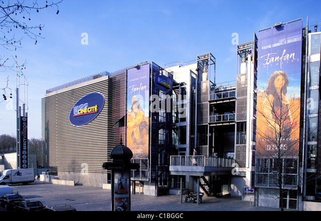 Frankreich, Paris, Multiplex-UGC Theater Filme in Bercy Stockbild