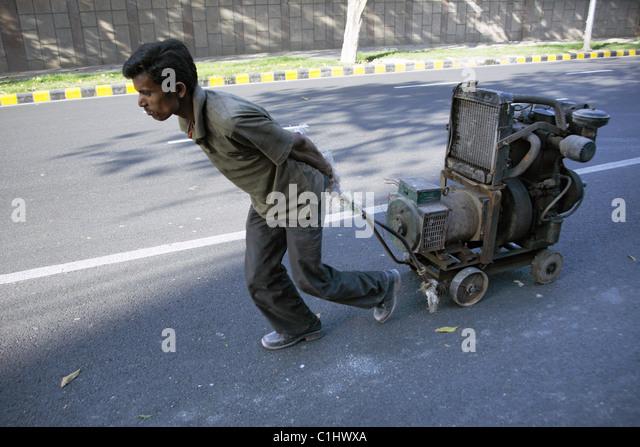 IND, Indien, 20110310, Arbeiter - Stock-Bilder