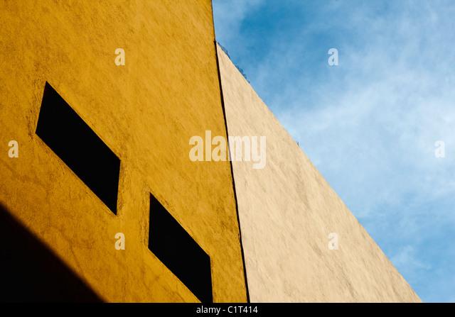 Gebäude-Fassade, beschnitten Stockbild
