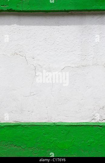 Bemaltem Stuck Wand, beschnitten Stockbild
