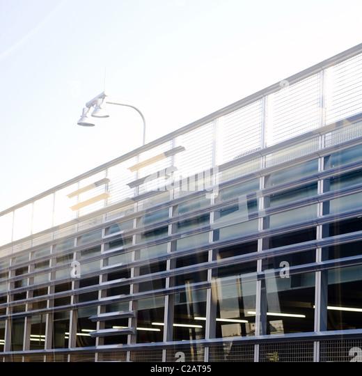 Moderne Parkdeck Stockbild