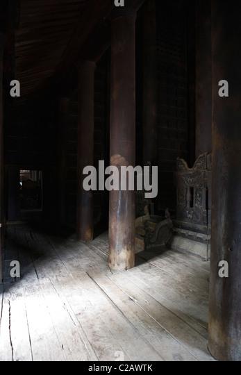 Bagaya Kyaung Kloster, Amarapura, Myanmar Stockbild
