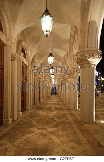 Venetian Hotel in Macau Stockbild