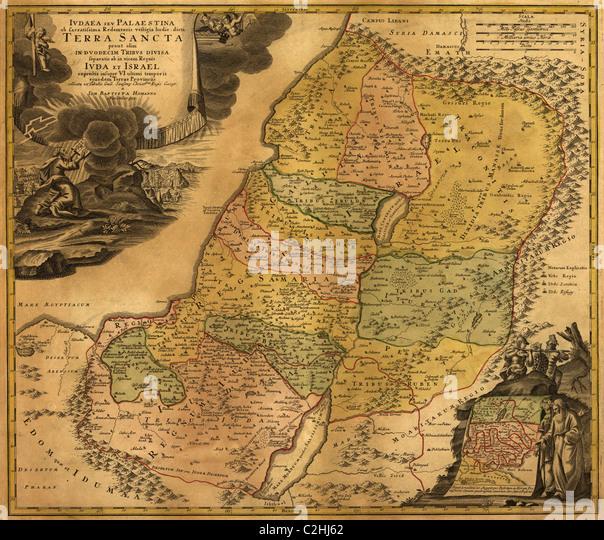 Judäa & Palästina antike Stockbild