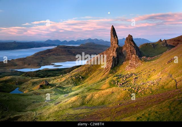 Old Man of Storr, Isle Of Skye Stockbild