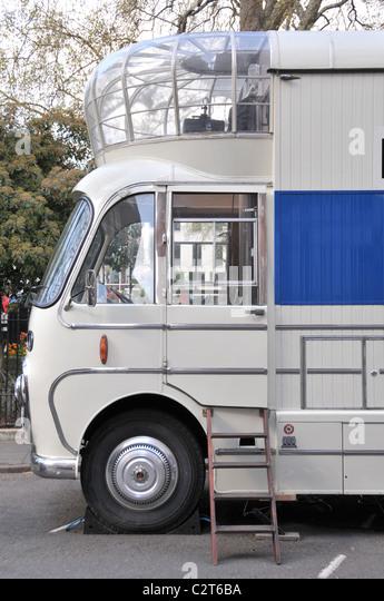Mobile Kino Soho Square of Technology Filme Filme der 1950er Jahre Stockbild