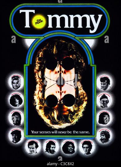 FILM POSTER TOMMY (1975) Stockbild