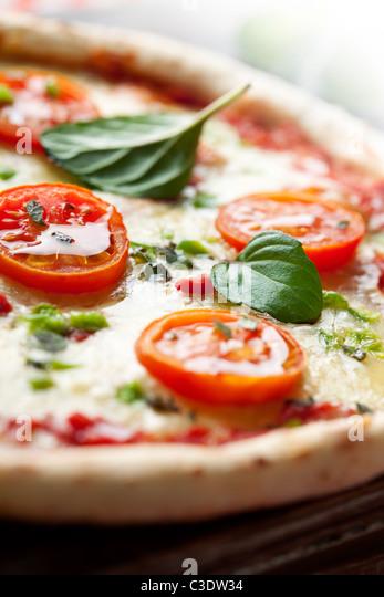frische italienische pizza Stockbild