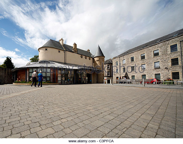 Das Erbe Hub - Scottish Borders-Archiv und Heimatmuseum Hawick. Scottish Borders. Stockbild