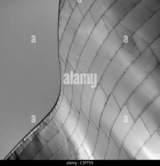 Kanadische Städte, architektonische Details der Art Gallery of Alberta, Edmonton Alberta, Kanada. Stockbild